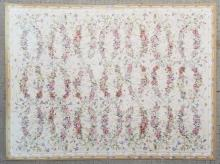 Stark Aubusson Style Floral Woven Wool Rug