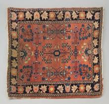 Antique Hand Knotted Persian / Oriental Carpet