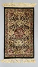 Small Silk & Wool Blend Persian / Oriental Carpet