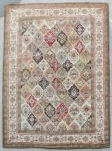 Contemporary Carpet Floral Motif by Home Tradition