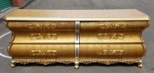 Italian Cappelletti Luxury Gold & Silver Dresser