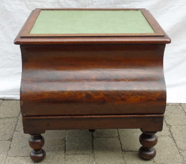 Fine Antique Mahogany Folding Library Or Bed Step Stool Beatyapartments Chair Design Images Beatyapartmentscom