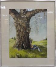 Susan Jordan Landscape Watercolor