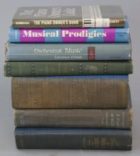 Assorted Lot Of Antique Music Books
