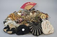 Lot Vintage Costume Jewelry, Bags, Eye Glasses