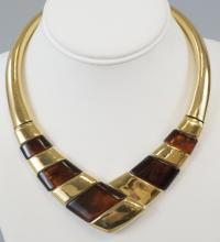 Napier Vintage Costume Jewelry Statement Necklace