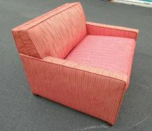 Mid Century Modern Armchair w/ Pull Out Chaise