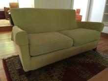 Contemporary Modern Curved Arm Sofa / Couch