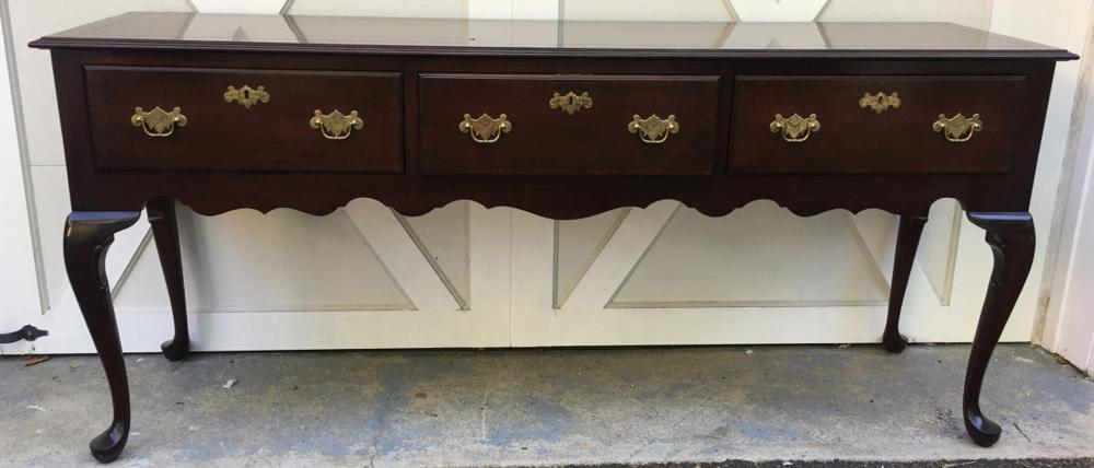 Kindel Queen Anne Style Console Table