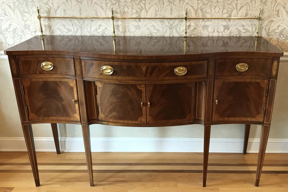 Hickory Chair Mahogany Georgian Style Sideboard