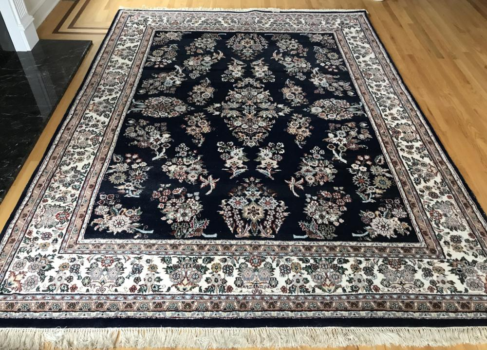 Bloomingdale Hand Knotted Wool Persian Carpet