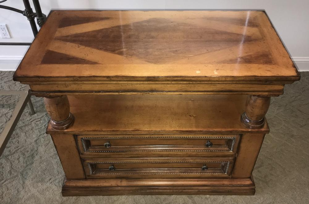 Drexel Heritage Villa Santini Collection End Table