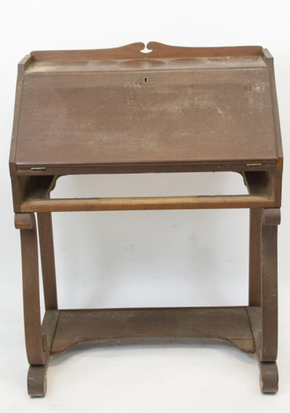 - Antique Slant Top Desk