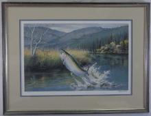 Maynard Reece- Ltd. Ed. Lithograph of a Game Fish