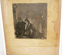Charcoal Illustration by Henry Patrick Raleigh