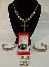 Lot of Native American and Mexican Jewelry
