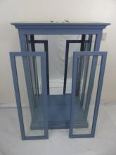 Contemporary Custom Glass Display Curio Cabinet