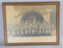 Antique Photo Governor's Foot Guard March Band