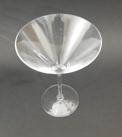 group of glass fine crystal drinking glasses