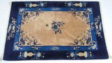 Antique Chinese Art Deco Style Carpet