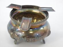 Vintage Sterling Silver Footed Ashtray