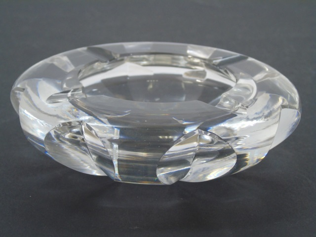 Vintage Saint Louis Cut Crystal Ash Tray