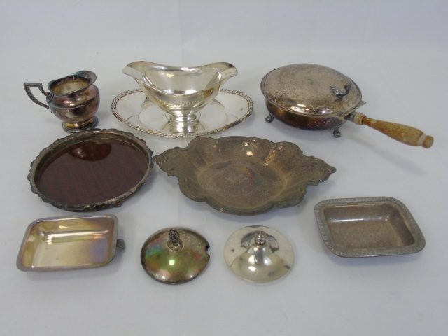 Assorted Antique & Vintage Silver Plate Serving