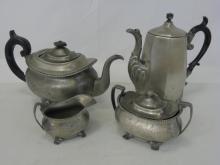 Antique Silver Plate Reed & Barton Tea Service