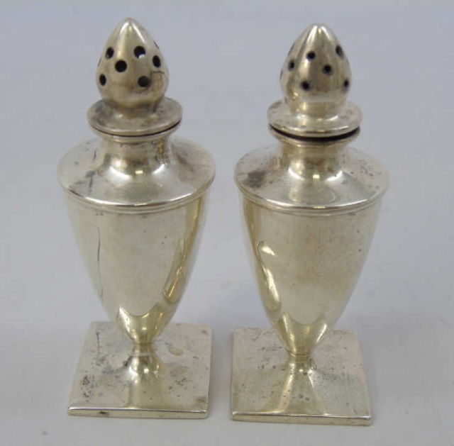 Neo Classical Gorham Sterling Salt & Pepper Shaker