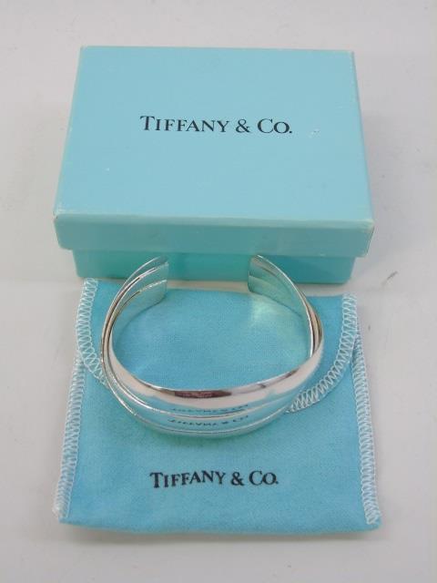 Tiffany & Co Paloma Picasso Sterling Cuff Bracelet
