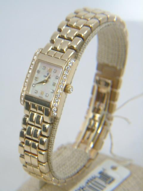 Lady's 14kt Gold Concord LaTour Diamond Watch