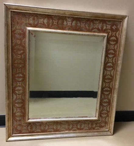Hal Kuehne Polychrome Picture Frame / Mirror