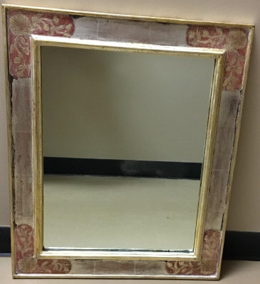 Richard Kuehne Polychrome Picture Frame / Mirror