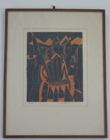 John Murray Barton - Pencil Signed Numbered Print