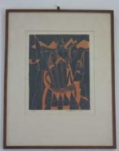 John Murray Barton - Pencil Signed Numbered Print