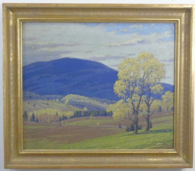 Andrew J Schwartz - Fall Landscape Oil Painting