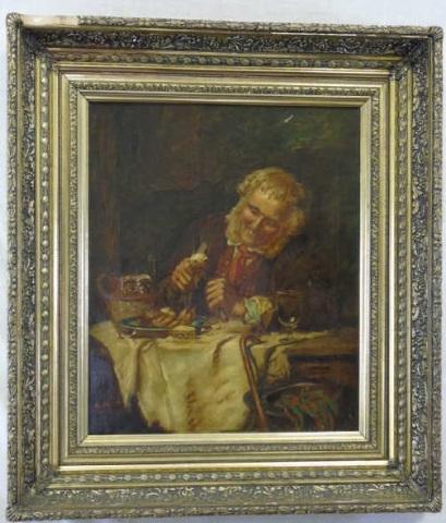 Charles Spencelayh - (1865-1958) English Portrait