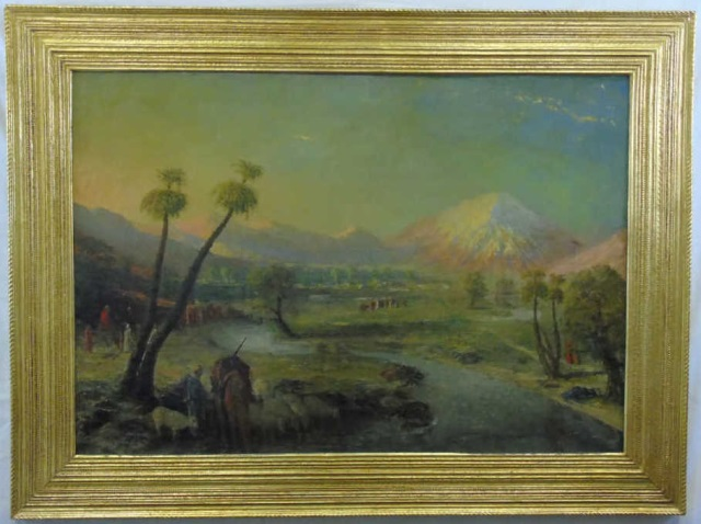 William Birdsall Gifford - Orientalist Landscape