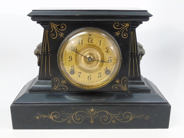 Antique 19th C Victorian Ansonia Mantle Clock