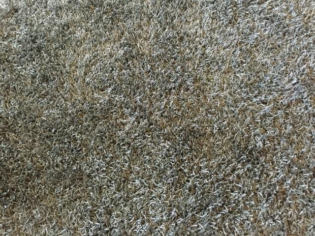 Contemporary Stark Grey Python Shag Carpet