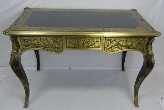 Antique 19th C Andre Charles Boulle French Desk