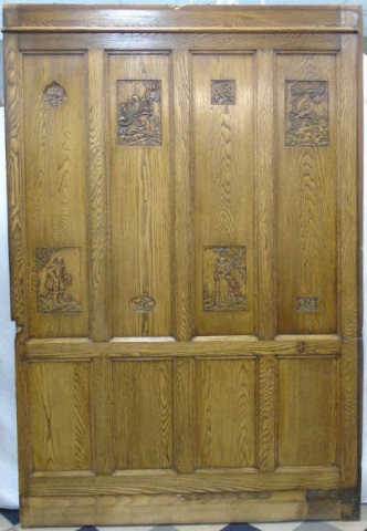Antique Architectural Salvage Quarter Sawn Oak