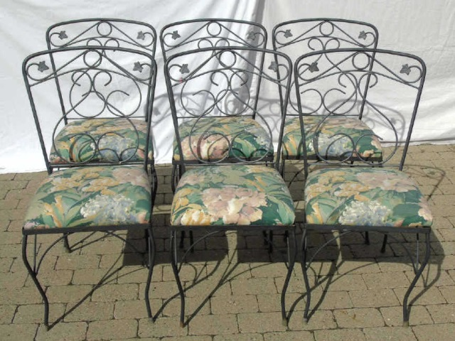 Outdoor Metal Patio / Deck Dining Room Set