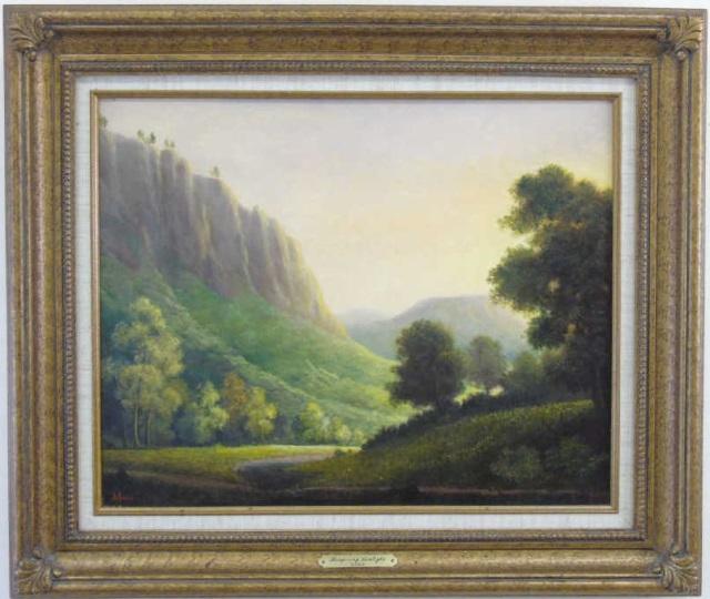 Robert DeLeon Oil Painting