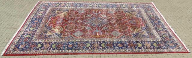 Iranian Ispahan / Kashan 20th C Wool Carpet