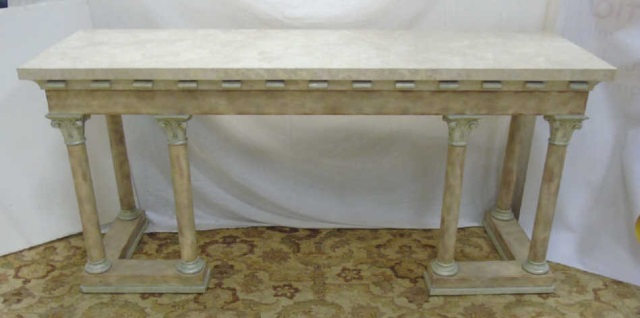 Contemporary Maitland Smith Console Table / Server