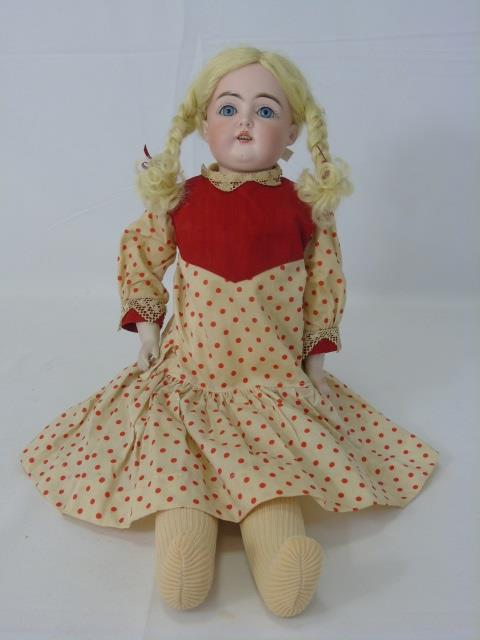 Antique 19th C German Bisque Kestner Doll 148