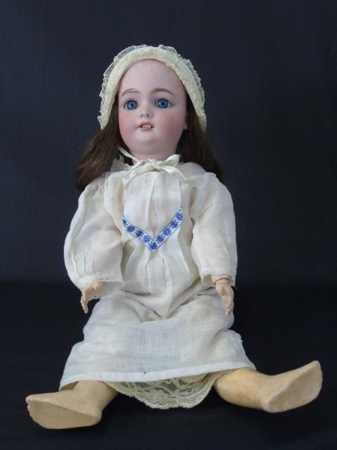 Antique CM Bergmann Simon Halbig Bisque Doll