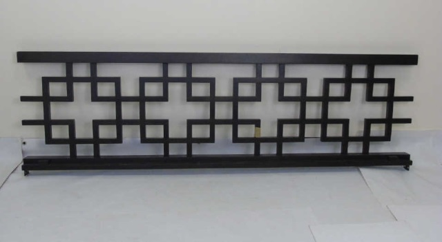 Contemporary Greek Key Twin Size Daybed Frame