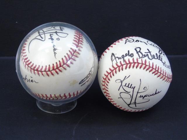 Baseballs Signed by University of Notre Dame Stars